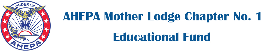 AHEPA Mother Lodge Chapter No. 1 Educational Fund